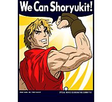We Can Shoryukit! Photographic Print