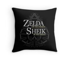 Zelda in the Streets Throw Pillow