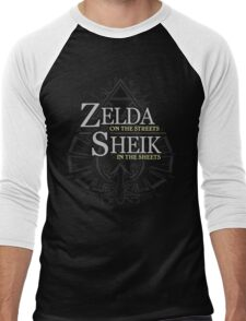 Zelda on the Streets Men's Baseball ¾ T-Shirt