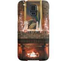 Fireplace Christmas Samsung Galaxy Case/Skin