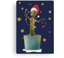 Groot Christmas Canvas Print