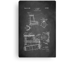 Dog Harness Patent 1945 Canvas Print