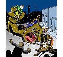 Adhesive Man - Defective Comics Photographic Print