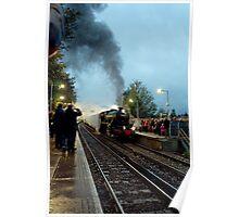 Steam Excursion at Sanderstead Poster