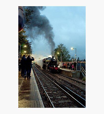 Steam Excursion at Sanderstead Photographic Print