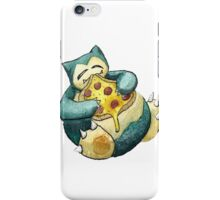 Pokemon pizza party- Snorlax iPhone Case/Skin