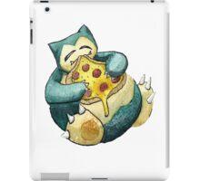 Pokemon pizza party- Snorlax iPad Case/Skin