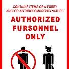 Authorized Fursonnel by Zhivago