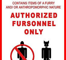 Authorized Fursonnel by Zhivago