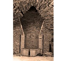 Ancient Furnace Hearth Photographic Print