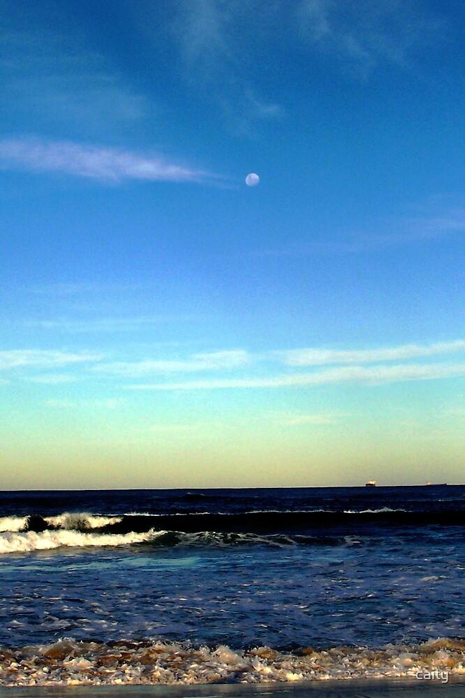 the beach by caity