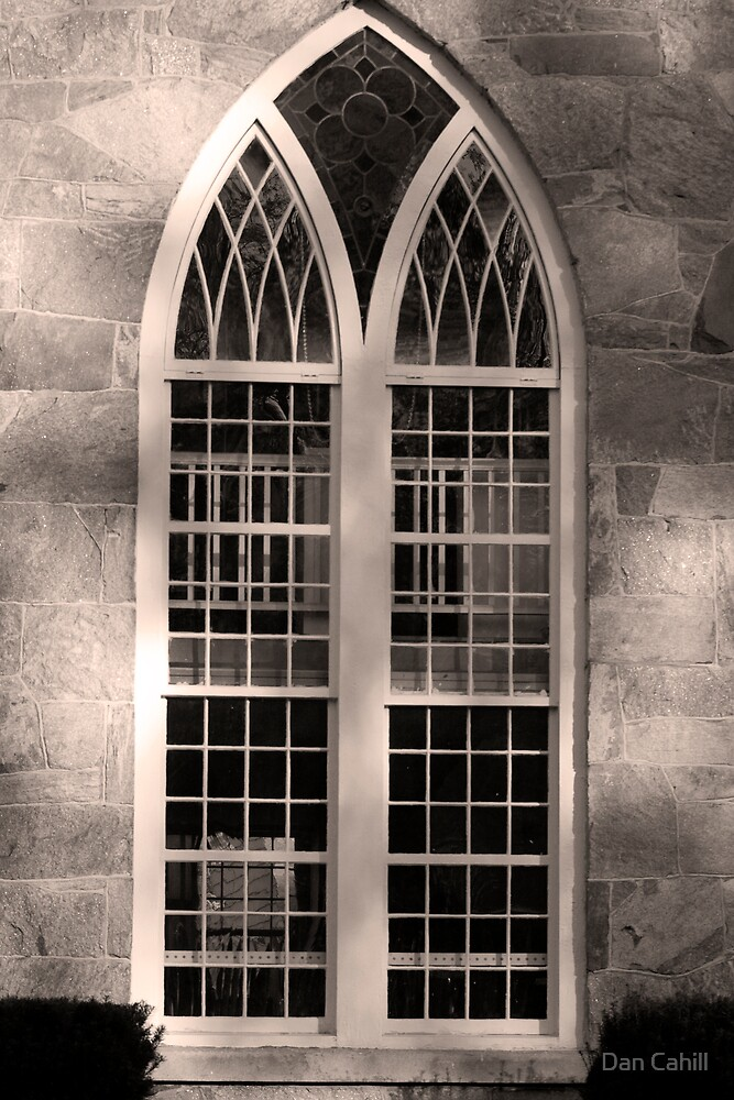 Gothic Window by Dan Cahill