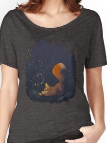 Firefly Fox - Orange Women's Relaxed Fit T-Shirt