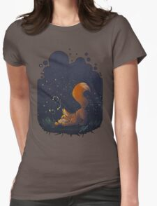 Firefly Fox - Orange Womens Fitted T-Shirt