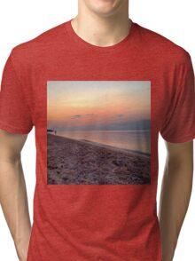 Pastel Sunset Tri-blend T-Shirt