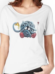 Pokemon pizza party- Tangela Women's Relaxed Fit T-Shirt