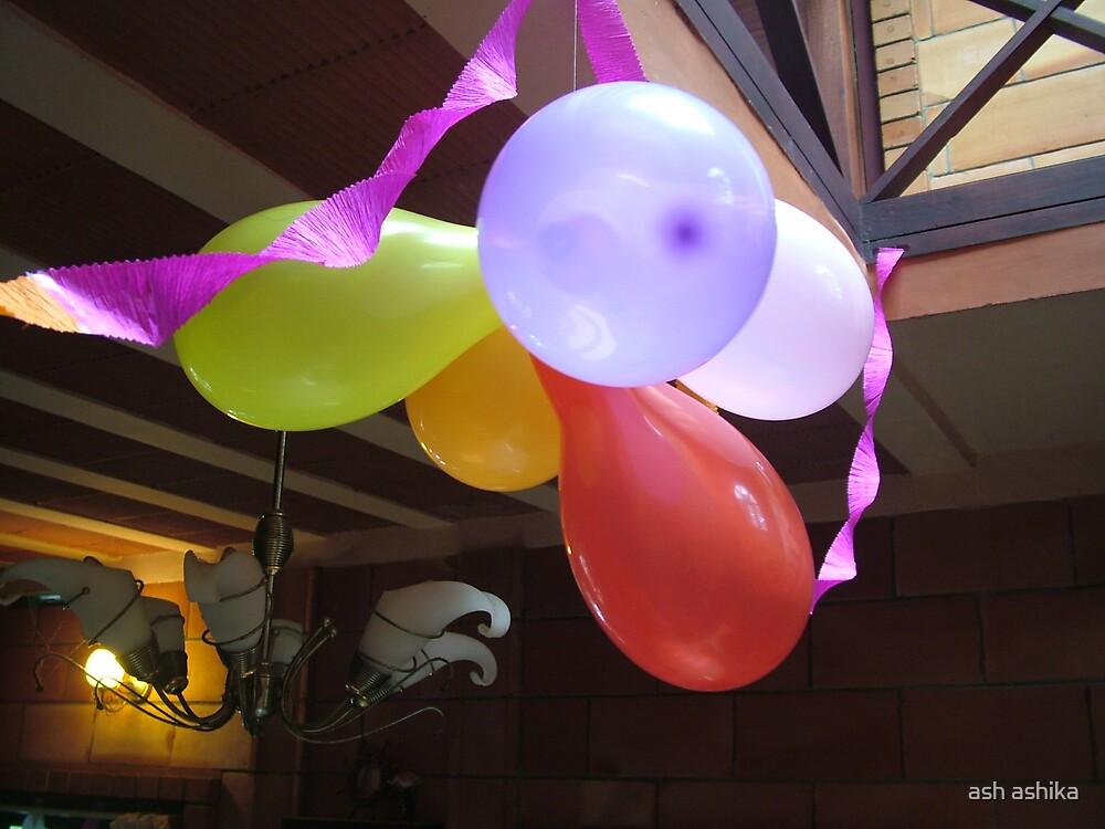 balloons &................. by ash ashika