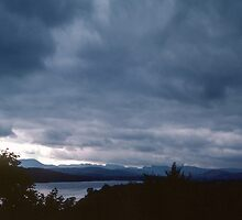 Mountains at Bowness Lake District England 198405210013 by Fred Mitchell