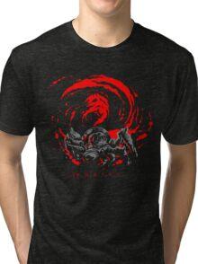 ... I'm... H... A... P... P... Y... Giygas Tee Tri-blend T-Shirt
