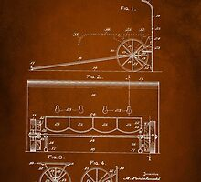 Soldier Shield Patent 1918 by Patricia Lintner