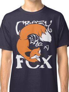 Crazy Like A Fox (Orange) Classic T-Shirt