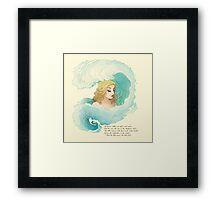 The Tide Rises, The Tide Falls Framed Print