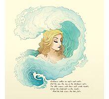 The Tide Rises, The Tide Falls Photographic Print
