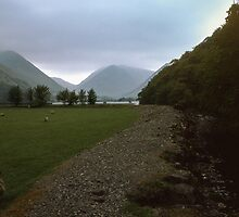 Nr Brothers Water Lake District England 198405220003 by Fred Mitchell