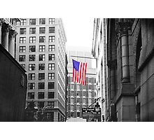 USA alley Photographic Print