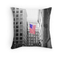 USA alley Throw Pillow