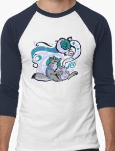Bag of Tricks (Night) Men's Baseball ¾ T-Shirt