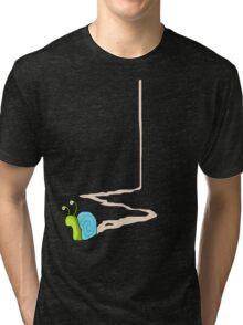 Snail Trail Tri-blend T-Shirt