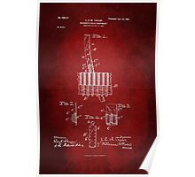 Soldier Field Equipment Patent 1901 Poster