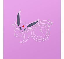 Espeon Photographic Print