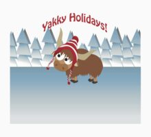 Yakky Holidays! Winter Scene Kids Clothes