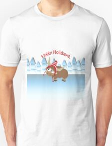 Yakky Holidays! Winter Scene T-Shirt
