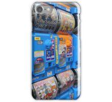 Japanese Capsule Machines iPhone Case/Skin