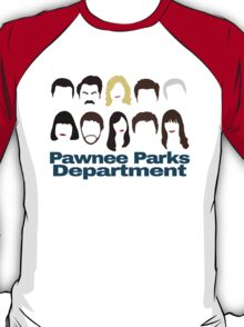 Pawnee Parks and Rec Crew T-Shirt