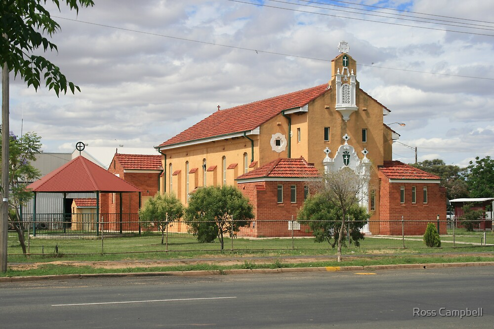 St. Patrick's Church, Brewarrina. by Ross Campbell
