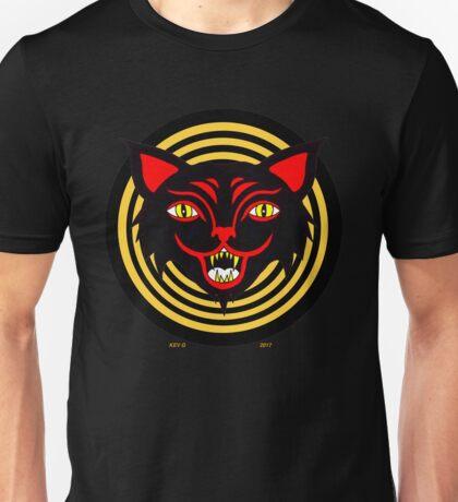 Halloween Spiral Cat Unisex T-Shirt
