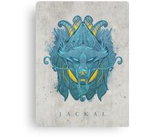 Jackal Canvas Print