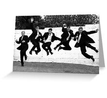 Jump for Joy Greeting Card