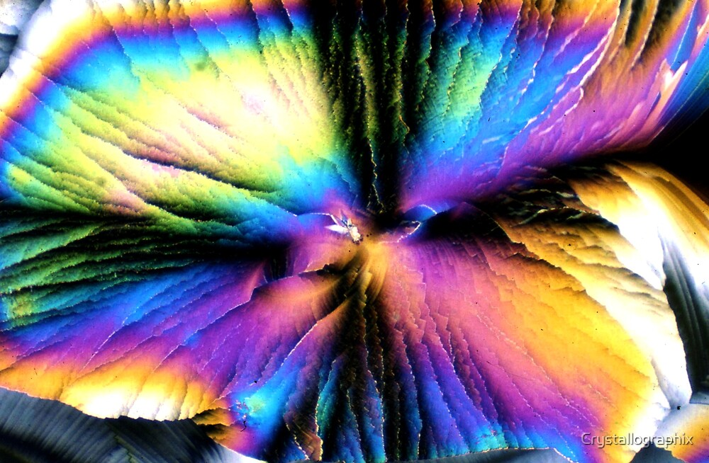 Rainbow Ripple  by Crystallographix