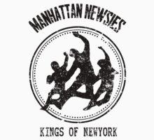 Manhattan Newsies by ftskim