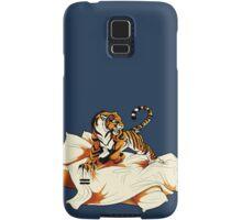 Tiger in Bed Samsung Galaxy Case/Skin