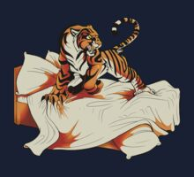 Tiger in Bed by Zhivago