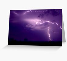 Large Bolt Greeting Card