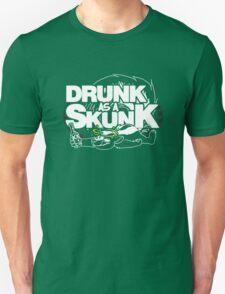 Drunk like a Skunk (Transparent) T-Shirt