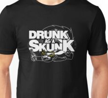 Drunk like a Skunk (Transparent) Unisex T-Shirt