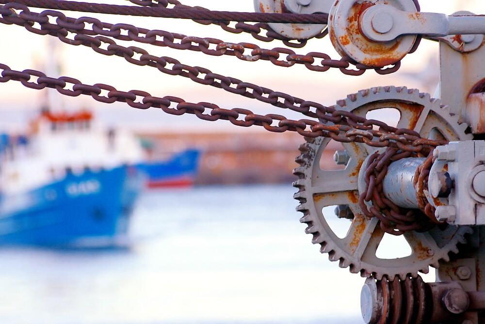Rusted Crane by Johann  Koch